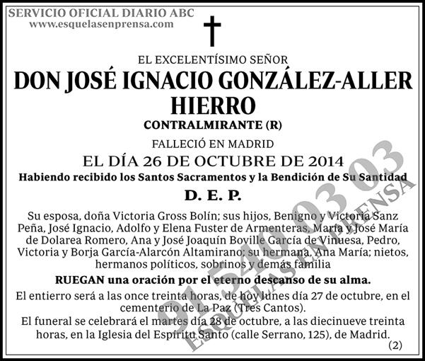José Ignacio González-Aller Hierro